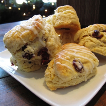cranberry-ginger-scone